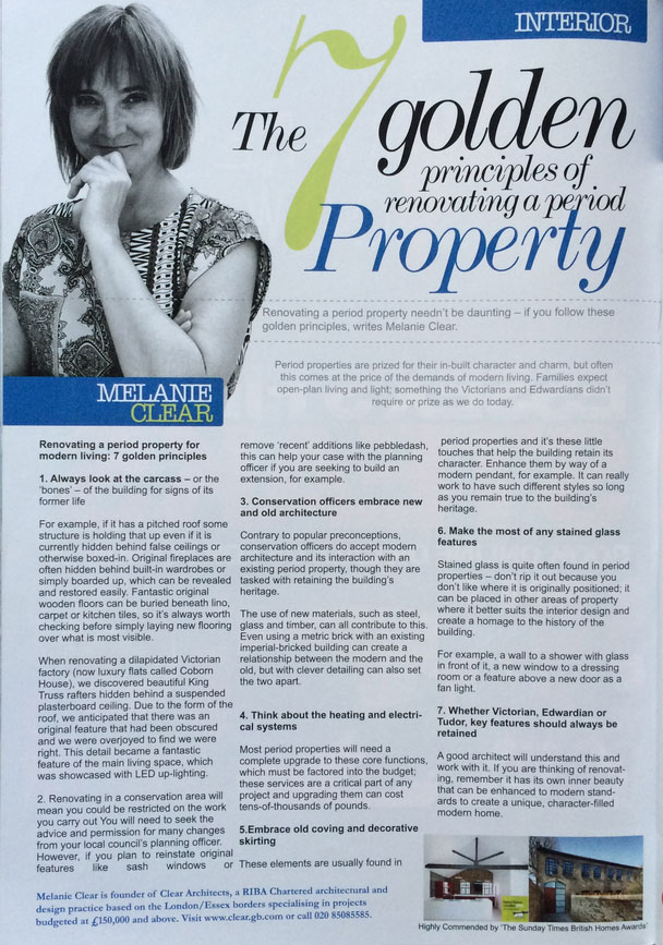 Essex Style magazine Expert Column