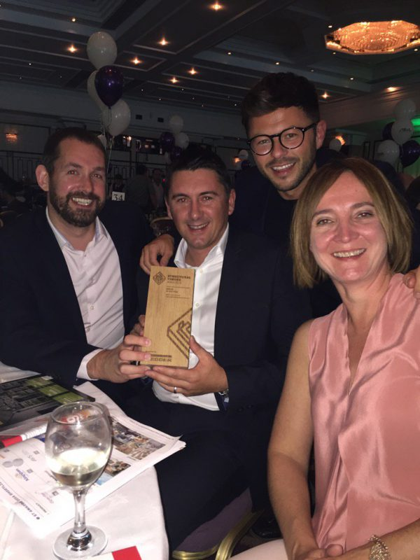 Clear Architects Celebrates Gold With Supplier SIPCO