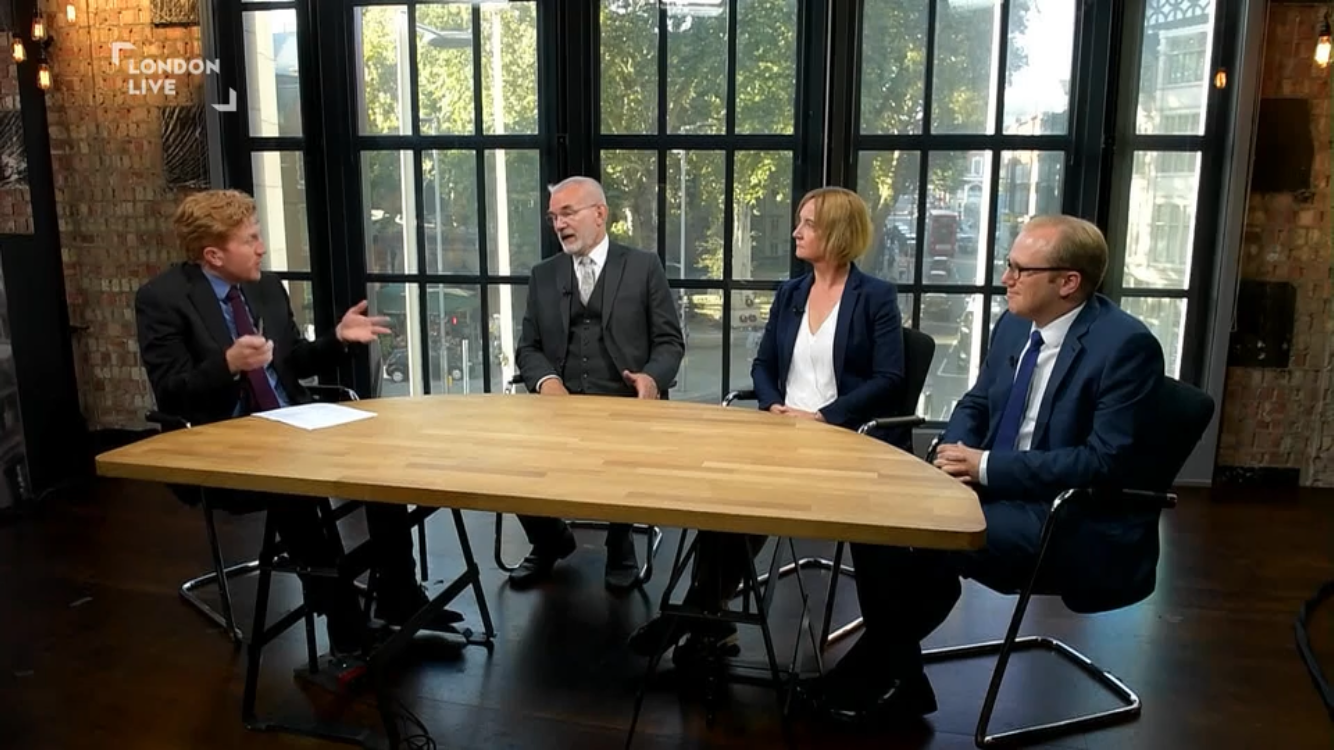 Melanie Clear discusses Brexit and Housing on London Live
