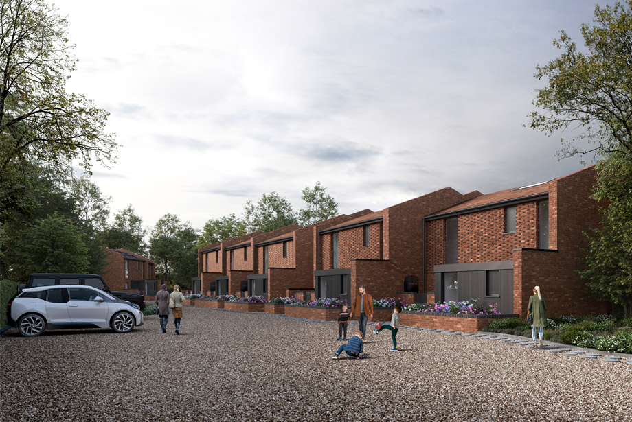 Clear Architects continue to work during lockdown with application for 7 eco-cottages