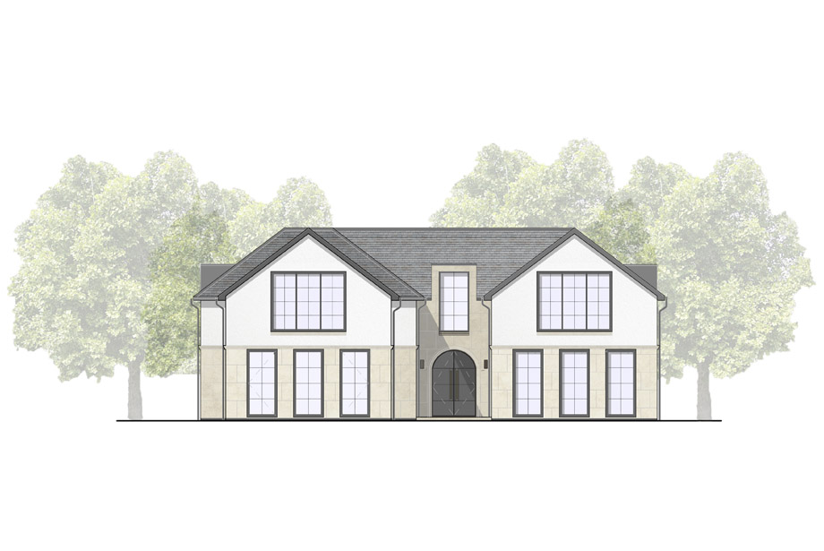 Planning approved for Clear Architects' new build Hertfordshire home