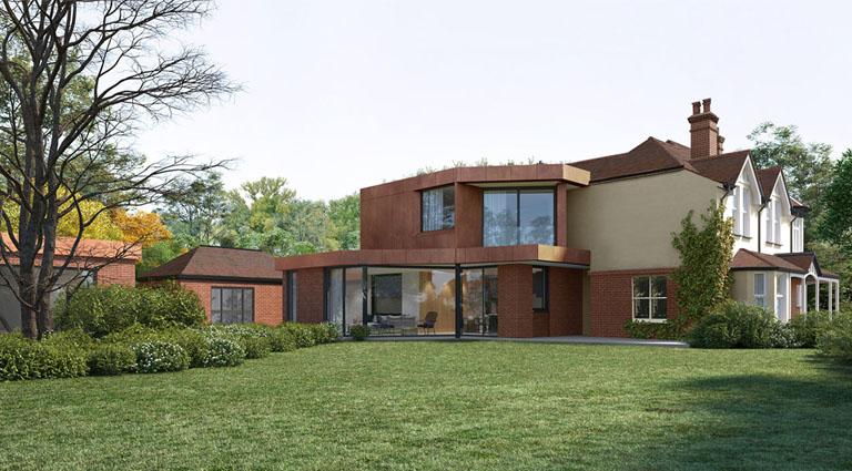 Bicknacre House